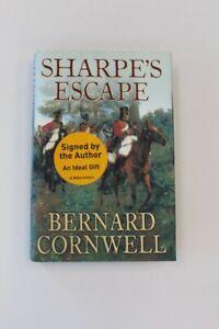 Sharpe's Escape By Bernard Cornwell Signed Copy Hardback - W26