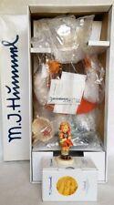 "Goebel Hummel ""SCHOOL GIRL"" #1066 Porcelain Doll 14'' &PORCELAIN FIGURINE w/COA"