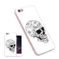 Rubber TPU Silicone Gel Pattern Case Cover For Samsung Galaxy S6 S7 S8 plus