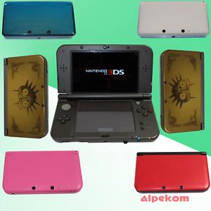 Nintendo 3DS, 3DS XL, New 3DS Konsole zur Auswahl mit 3 GRATIS SPIELE + TASCHE
