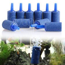 10X Cylinder Aquarium Bubble Air Stone Fish Tank Aeration Aerator Diffuser New