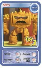 CARTE COLLECTOR DISNEY PIXAR AUCHAN 2010 NUMERO 93 TCHAC TOY STORY 3