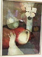 SUNOL ALVAR - BOUQUET SUR LA TABLE - 1991 SIGNED LITHOGRAPH - LIMITED EDITION