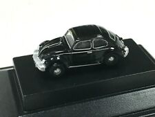 Volkswagen Beetle Black Diecast VW 1:148 N Scale Oxford