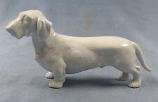 Dackel  Porzellanfigur dackel figur hundefigur Teckel W&A rauhhaar w