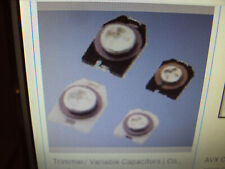 4A 100-Qty Ctz3S-05A-W1-Pf Trimmer Capacitor, 1.5 pF to 5 pF +100%, -0%