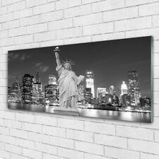 Acrylglasbilder Wandbilder aus Plexiglas® 125x50 Freiheitsstatue New York