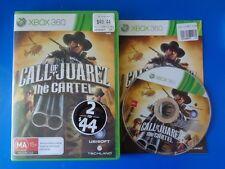 "Call of Juarez The Cartel - Xbox360 ""Australia"""