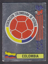 Panini - USA 94 World Cup - # 58 Colombia Foil Badge (Black Back)
