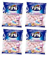 4 x Fini FINITRONC Marshmallow Chewy Sponge Candy 90g  3.1oz