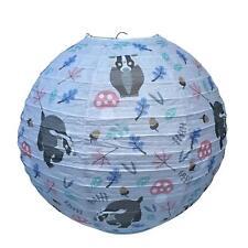 Cortina de lámpara de la vida silvestre Tejón Linterna de papel Niños Childrens bedroom Conservatorio