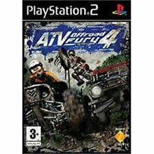 """ATV Offroad Fury 4 para PLAYSTATION 2 tienen muy raro y difícil de encontrar"""""""