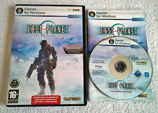 LOST Planet: EXTREME Condition-COLONIE Edition-PC Windows-COMPLETO-DVD