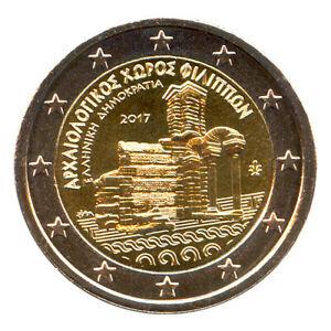 Sondermünzen Griechenland: 2 Euro Münze 2017 Ausgrabungsstätte Philippi