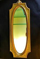 Vintage Mid Century Dart Mirror 4913 Hollywood Regency Wall Hanging
