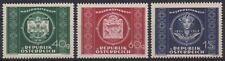 1949 AUSTRIA ÖSTERREICH MICHEL Nr. 943/945  UNIFICATO 779/781  MNH ** €.20,00