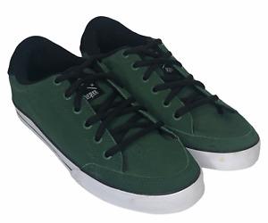 CIRCA Adrian Lopez AL50 Mens Skateboarding Shoes Green Size 8.5 Sneakers EUC