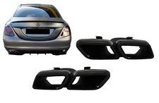 Auspuff Endrohre Für Mercedes C W205 GLE C292 W166 GLC W253 C217 A-design Look..
