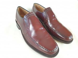 Men's Loakes Holborn All Leather Slip On Loafer Style Handmade Shoes Size UK 7.5