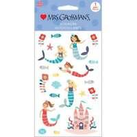 Mrs Grossman/'s Eric Carle Mythical Creatures Unicorn Mermaid Scrapbook Stickers