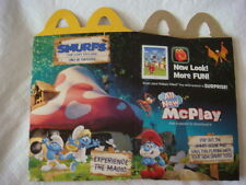 2017 MCDONALD'S SMURFS THE LOST VIALLAGE HAPPY MEAL BOX