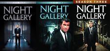 NIGHT GALLERY COMPLETE SERIES SEASONS 1-3 New 10 DVD 1 2 3 Rod Serling
