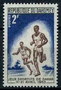 Dahomey 1963 SG#187, 2f Dakar Games, Running MH #E82448