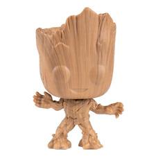 Funko POP! Marvel GOTG Vinyl Figure GROOT Wood Deco Exclusive #622