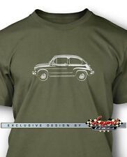 Fiat 600 2 Doors Coupe 1955 - 1969 T-Shirt for Men - Multiple Colors and Sizes