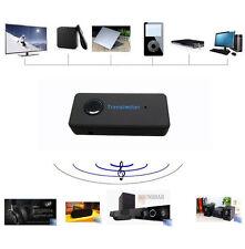 Wireless Bluetooth 3.0 A2DP Stereo Audio Transmitter Sender Adapter US STOCK