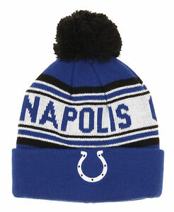 Outerstuff NFL Indianapolis Colts Toddler Cuffed Knit with Pom Hat OSFM