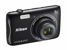 Nikon Coolpix S3700 20.1MP 8 x Wide Optical Zoom Digital Camera