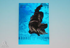 2013 Marvel Fleer Venom Blue PMG Precious Metal Gems Parallel Card Symbiote 4/50