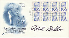 New listing Dr. Robert Gallo (1937 - ) hand signed 1986 autographed Fdc - Hiv Aids doctor