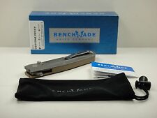 BENCHMADE 928 OSBORNE PROXY FOLDING KNIFE G10 & TITANIUM HANDLE, NEW IN BOX!
