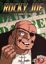ROCKY JOE STAGIONE 01 BOX 02  4 DVD  COFANETTO  ANIME