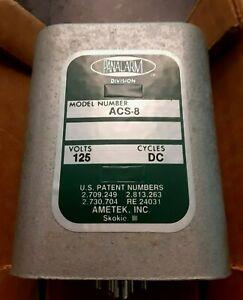 Ametek Panalarm Relay ACS-8 125V DC NOS