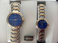 CHARLES LASALLE BASIC LINK CREATION QUARTZ HIS AND HER WRIST WATCH IN THE BOX