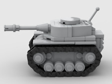 Custom LEGO MOC, Instructions ONLY, for M111 Beetle, Micro Tank