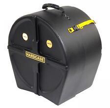 "Hardcase hn16ft 16"" Floor stand Tom case Drums batería maleta accesorios negro"