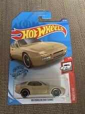 Hot Wheels 2020 '89 Porsche 944 Turbo Gold