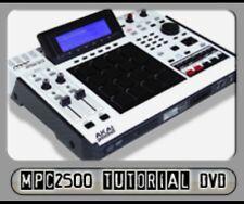 Akai MPC2500 Instructional DVD ( MPC 2500 Tutorial )