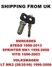 Interruttore di accensione barile 2 TASTI PER MERCEDES ATEGO SPRINTER mk1 VITO VW LT mk2
