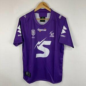 Melbourne Storm NRL Nines Jersey Mens M Medium Purple Short Sleeve Round Neck