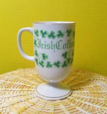 St. Patrick's Day Irish coffee mug Shamrocks Clover Irish saying