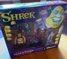 Shrek 'Shrek & Friends' Mini Figures McFarlane Toys 2001 Mib