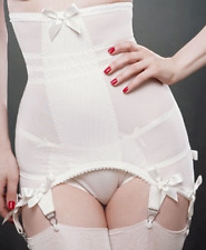 Kiss Me Deadly Vargas Longline Girdle Ivory Small