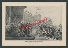 Louis David L'empereur Napoléon maître délimitent stand types garde paris 1804