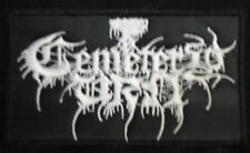 CEMETERY URN EMBROIDERED LOGO PATCH