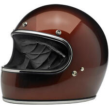Biltwell Gringo Full Face Retro Helmet - Metallic Bourbon